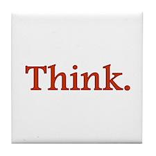 Think Tile Coaster