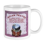 Indian Prayer with eagle Mug