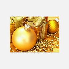 Christmas Ornament 5'x7'Area Rug