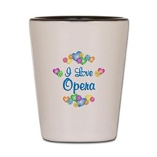 I Love Opera Shot Glass