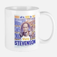 1952 Stevenson - Which Will Be Safer for You? Mugs
