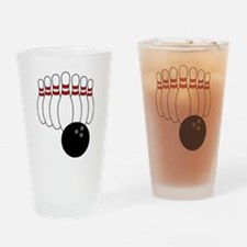 Bowling Drinking Glass