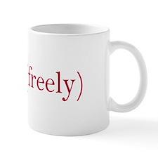 Think freely Mug