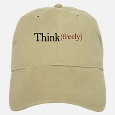 Think freely Baseball Baseball Cap