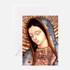 Guadalupe Virgin Mary Greeting Cards