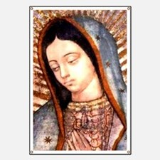 Guadalupe Virgin Mary Banner