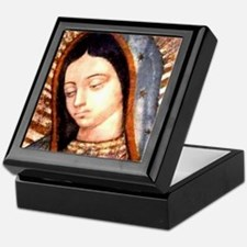 Guadalupe Virgin Mary Keepsake Box