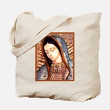 Guadalupe Virgin Mary Tote Bag