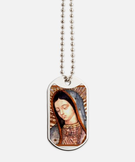 Guadalupe Virgin Mary Dog Tags