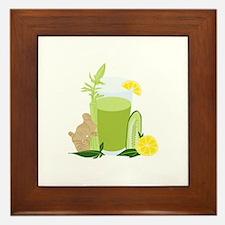 Health Drink Framed Tile