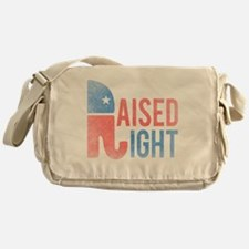 Raised Right Vintage Messenger Bag