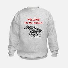 horse racing Sweatshirt