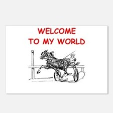 harness racing Postcards (Package of 8)