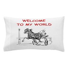 harness racing Pillow Case