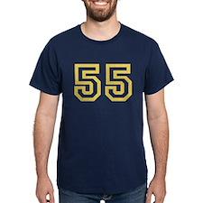 GOLD #55 T-Shirt