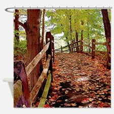 Fall Pathway Shower Curtain