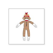 Sock Monkey Sticker