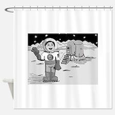 MoonMan Shower Curtain
