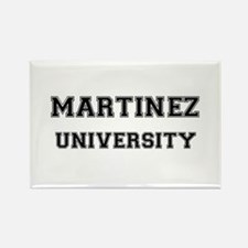 MARTINEZ UNIVERSITY Rectangle Magnet