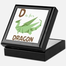 D Is For Dragon Keepsake Box
