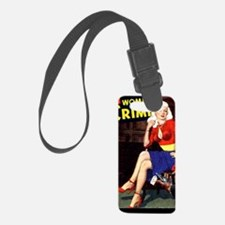 WomenInCrime Cover 5G Luggage Tag