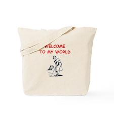 golfing Tote Bag