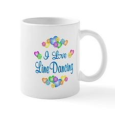 I Love Line Dancing Small Mug