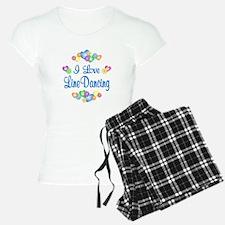 I Love Line Dancing Pajamas