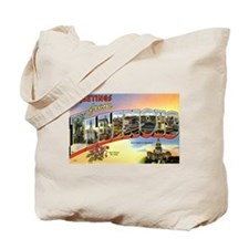 Greetings from Illinois Tote Bag