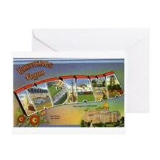 Greetings from Indiana Greeting Cards (Package of