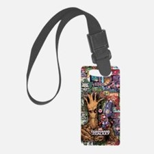 Groot Rocket Comic Luggage Tag