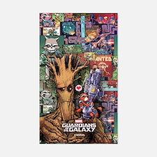Groot Rocket Comic Decal