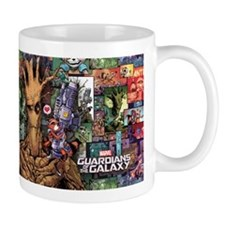 Groot Rocket Comic Mug
