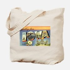 Greetings from Iowa Tote Bag
