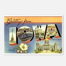 Greetings from Iowa Postcards (Package of 8)