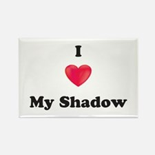 I Love My Shadow Magnets