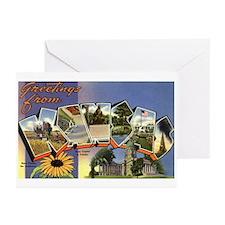 Greetings from Kansas Greeting Cards (Pk of 10