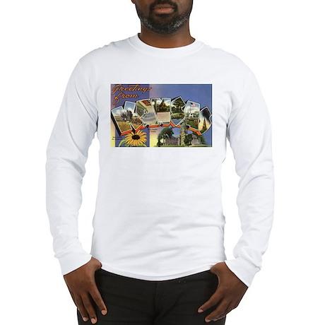 Greetings from Kansas Long Sleeve T-Shirt