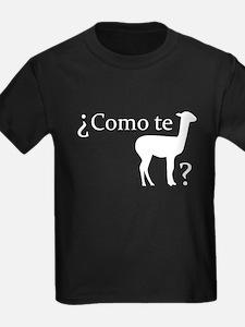 ¿Como te llama? T-Shirt