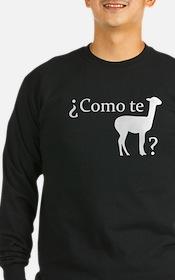 ¿Como te llama? Long Sleeve T-Shirt