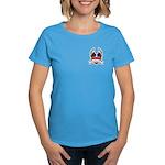 Winged Heart American Tattoo Women's Dark T-Shirt