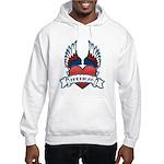 Winged Heart American Tattoo Hooded Sweatshirt