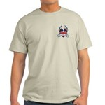 Winged Heart American Tattoo Light T-Shirt
