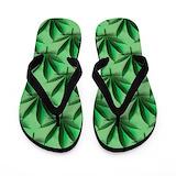 Weed Flip Flops
