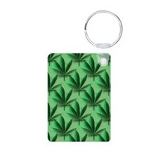 Cannabis Leaves Keychains