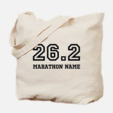 Marathon Name Personalize It! Tote Bag
