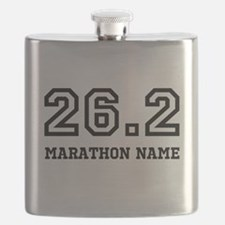 Marathon Name Personalize It! Flask