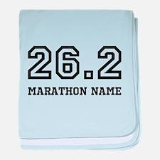 Marathon Name Personalize It! baby blanket