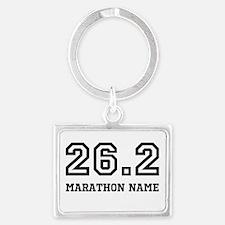 Marathon Name Personalize It! Keychains