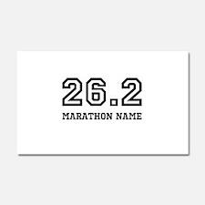 Marathon Name Personalize It! Car Magnet 20 x 12